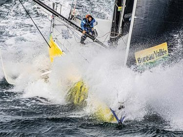 Sailing Alone Around the World in the Vendée Globe Race
